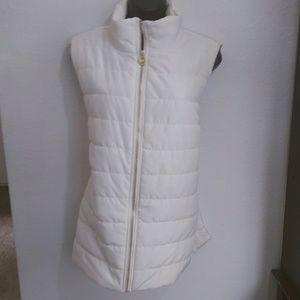 { Michael Kors } NWT white puffer vest
